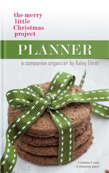 Christmas 3 Year Planner