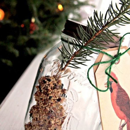 Rule of One Gift Idea: Bird Seed Ornament