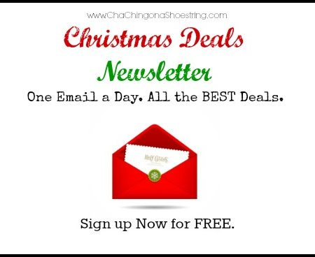 Sign Up for my Christmas Deals Newsletter | One Email a Day. All the BEST Deals.