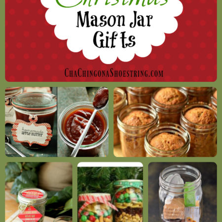 Rule of One Gift Ideas: Mason Jar Gifts (Tea Time, Apple Butter and More)