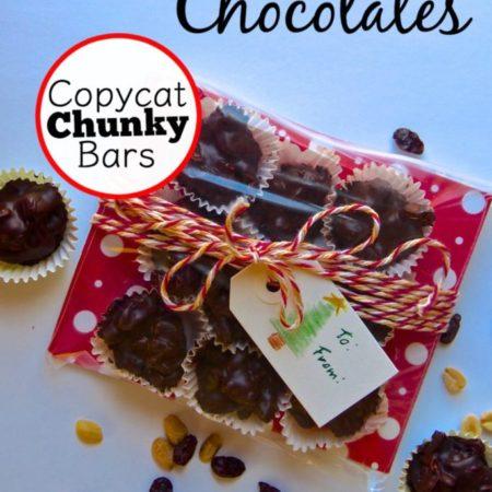 Rule of One Gift Idea: Copycat Chunky Bars