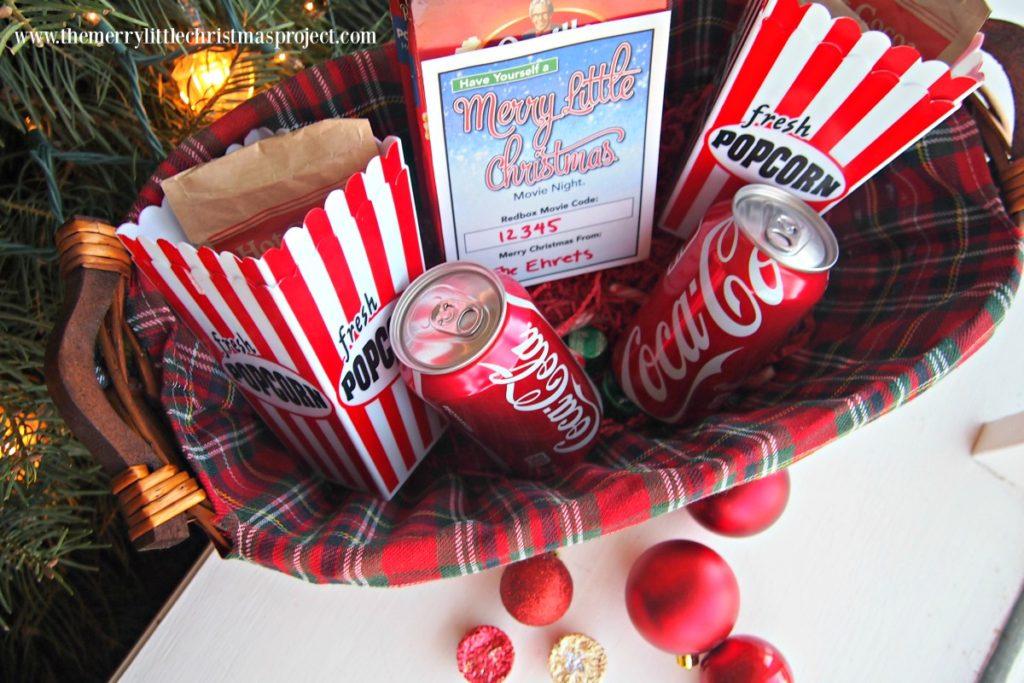 Movie Night Gift Basket Gift Idea